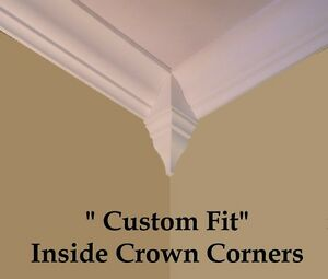 Crown Molding inside Corner Blocks wood 4 pack High Quality Craftsmanship $29.95
