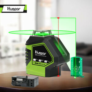 Self Leveling Green Laser Level 360 Degree Cross Line with 2 Plumb Dots point