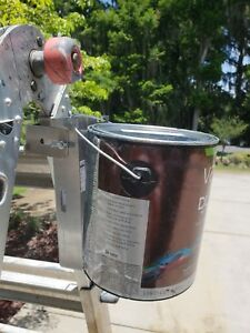 Paint Can Holder: Holds Any Size Can on Any Ladder - The Ladder Shelf System