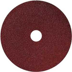 Sait 50001 4quot; x 5 8quot; 36 Grit Resin Fiber Disc for Sanders and Grinders New