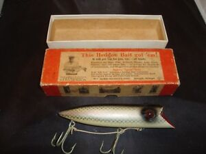 Vintage Heddon King-Basser Lure #8569P in Box body is 6