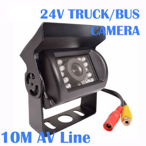 10M Truck Heavy Duty 24V Wide Angle Night Vision Back Reverse Camera Rear View AU $49.90