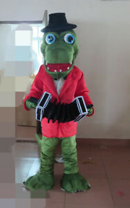 Cute High Quality Lovely Crocodile Costume Adult Crocodile Mascot Costume Gift A