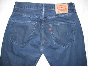 Levi#x27;s 501 Button Fly Actual Size 30 X 30 1 4 Men#x27;s Jeans