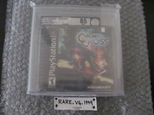 Chrono Cross (PlayStation 1 2000) PS1 Brand New Sealed RPG Black Label VGA 85