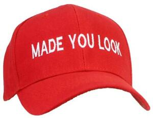 Tropic Hats Adult Embroidered Made You Look Structured Adjustable Ballcap
