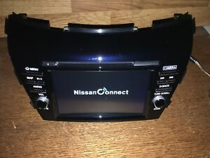 Navigation Nissan Murano 15 16 OEM GPS Nav XMAMFMCD Radio Touchscreen Display