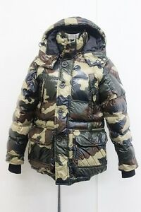AUTHENTIC MONCLER SAUTERNE CAMO Men's Hooded Puffer Jacket 0 Camouflage