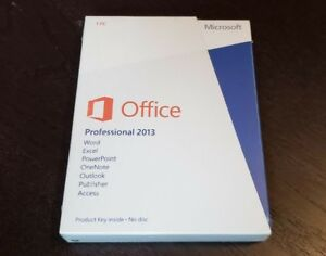 NEW Microsoft Office Professional 2013 Windows Excel Word Access Publisher