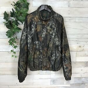 Mad Dog Stearns Mossy Oak Camo Hunting Jacket Coat H088 Mens XL Extra Large
