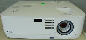 NEC NP300 LCD Projector Home Theater Multimedia Projector 2368 LAMP HOURS