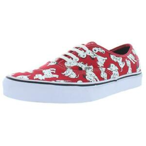Vans Mens Authentic Low Top Dalmatians Trainer Skate Shoes Sneakers BHFO 4867