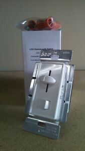 Single Switch & 3-Way Dimmer - LED Decora Dimmer Switch - LED 150W CFL 700W Inc