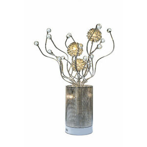 Urban Designs Floral Display LED Table Lamp