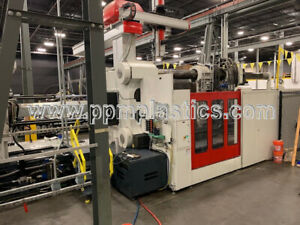 2014 Milacron MGs2300-362 (M7601AA020014 used plastic injection molding machine