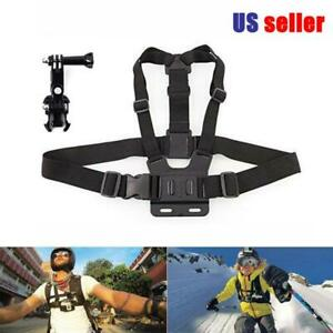 Chest Body Adjustable Chest Harness Strap For GoPro Hero Series Camera Mount US