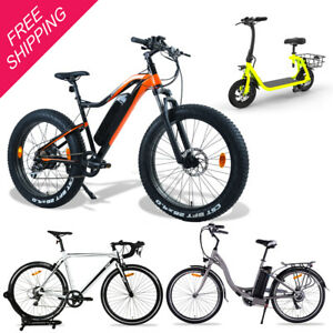 Electric Bike City Mountain Bicycle Rechargeable E-Bike Battery Light Weight