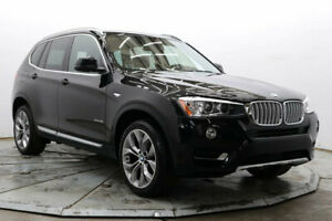 2017 BMW X3 xDrive35i AWD Nav R Camera Lthr Htd Seats Driver Assist Moonroof 19in Wheels Must See Save