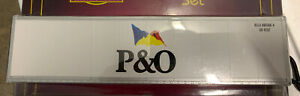 MTH PREMIER P&O 40' INTERMODAL CONTAINER NEW FITS LIONEL DOUBLE HUSKY STACK