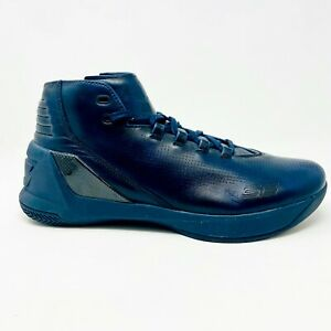 Under Armour Curry 3 Lux Limited Edition Blue Basketball Shoes 1299661 997 $79.95