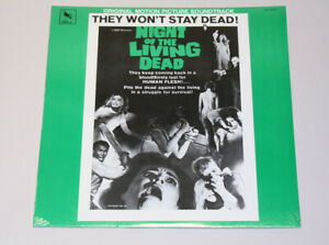 Night Of The Living Dead - Soundtrack LP 1982 Varèse Sarabande - SEALED OST