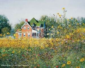 Victorian in the Meadow Limited Edition Print by Ned Young $125.00