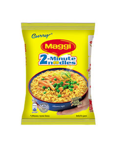 Maggi Curry Spicy Instant Noodles Halal Original 5pcs