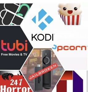 Jailbroken 4K Amazon Fire Stick 3 - Tons Of Extras With ADULT CONTENT UNLOCKED