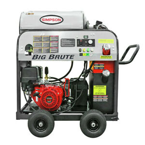 SIMPSON 65106 Big Brute 4000 PSI 4.0 GPM Hot Water Pressure Washer New