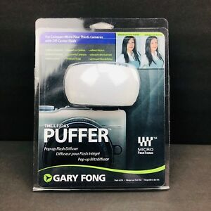 NEW Gary Fong Puffer Pop-Up Flash Diffuser PUF-M43 Micro Four-Thirds 43 Cameras