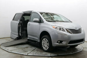 2015 Toyota Sienna XLE Premium VMI Handicap Wheelchair Access Side Ramp Northstar XLE Premium Nav DVD 26K Save