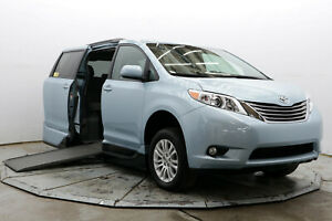 2017 Toyota Sienna XLE VMI Handicap Wheelchair Access Side Ramp Transfer Seat QLK Northstar Nav Save