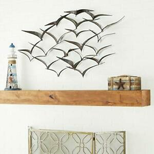 Deco 79 Metal Fish Wall Decor 53 by 20-Inch Assorted Styles  $101.39