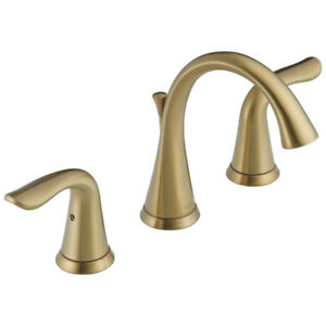 Delta Faucets 3538-CZMPU-DST 2-Handle Widespread Bathroom Faucet (Bronze) New
