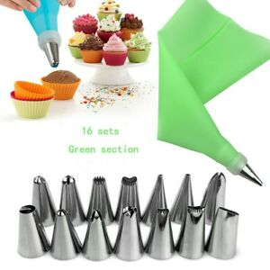 US Cake Decorating Kit Supplies Set Tools Piping Tips Pastry Icing Bags Nozzles