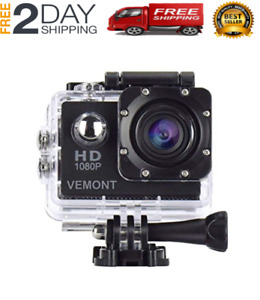 NEW 5 Action Gopro Hero Full HD 1080P Sports WaterproofCamera 12MP 170 Degree
