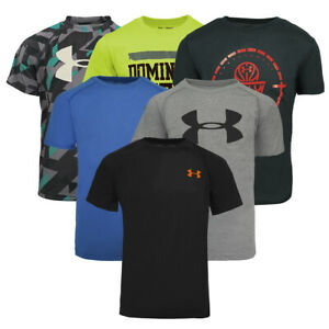Under Armour Boys' Mystery Tech T-Shirt