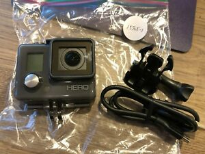 GOPRO HERO WATERPROOF ACTION CAMERA  CHDHA-301  Gray EXCELLENT #15565
