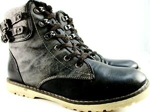 Helly Hansen women Ankle Boots Size 7 Black Gray  Brass Eyelets  style CCL3250