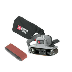Porter Cable 3 in. x 21 in. Variable Speed Sander with Dust Bag 352VS New $164.99