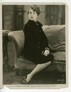 Nobody's Widow Leatrice Joy 8x10 B&W Promo Still
