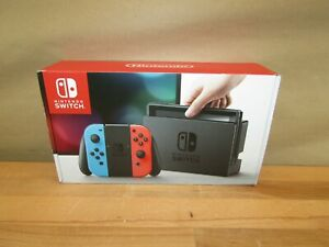 Nintendo Switch Console with Neon Blue & Red Joy-Con HACSKABAA