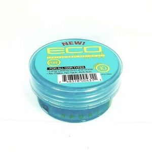 Eco Professional Styling Gel Sport Strong Hold Shine Anti-Itch 3 fl.oz - Blue