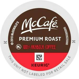 McCafe Premium Roast Coffee 24 to 144 Keurig K cups Pick Any Size