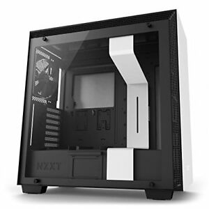Nzxt CA-H700B-W1 H700 No Power Supply Atx Mid Tower (matte White) (cah700bw1)