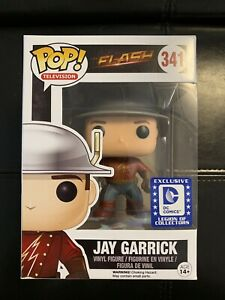 Funko Pop The Flash TV Show Jay Garrick DC Legion Of Collectors Exclusive