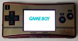IMPORT Nintendo Game Boy Micro Famicom Handheld Console - RedGold TESTED