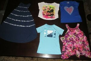 5 Piece Lot Girls Clothes Size 5 6 KidsGAP JUSTICE UNDER ARMOUR $12.00