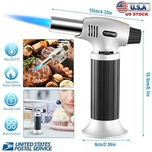 Creme Brulee Culinary Food Blow Chef Kitchen Butane Flame Lighter Refillable US