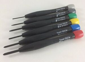 6 Pc Precision Screwdriver Set Electronic Micro Hobby Jewelry Watch Mini